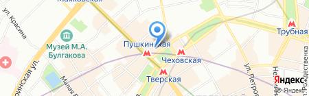 SoleMioTur на карте Москвы
