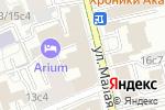 Схема проезда до компании Рублевское шоссе в Москве