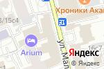 Схема проезда до компании ClinicProfi в Москве