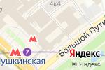 Схема проезда до компании Биллион в Москве