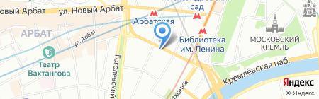Губина и партнеры на карте Москвы