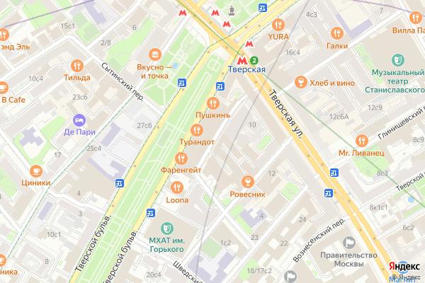 Ремонт телевизоров Большой Гнездниковский переулок на яндекс карте
