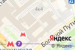 Схема проезда до компании Алгоритм в Москве