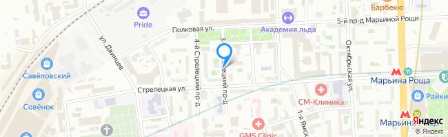 проезд Стрелецкий 3-й