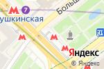 Схема проезда до компании Станция Пушкинская в Москве