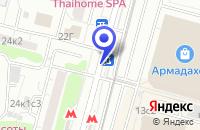 Схема проезда до компании ТФ MONT BLANK в Москве
