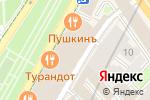 Схема проезда до компании Живой кофе в Москве