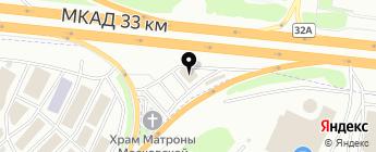 АВИС-АМ на карте Москвы
