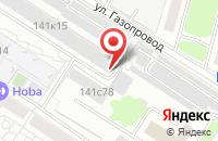 Схема проезда до компании Ниспо-Св в Москве