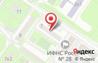 Схема проезда до компании Компания ПНГео в Москве