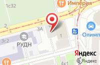 Схема проезда до компании Илсор Строй в Москве