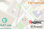 Схема проезда до компании Алисиум в Москве