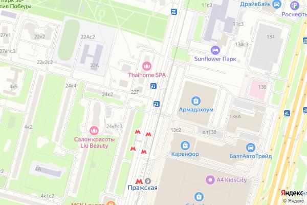 Ремонт телевизоров Улица Кировоградская на яндекс карте