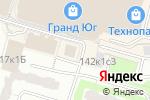 Схема проезда до компании Сфера и Д в Москве