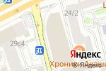Схема проезда до компании EFES Rus в Москве