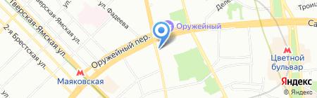 Школа Журналистов на карте Москвы