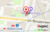 Схема проезда до компании Ньюстар в Москве