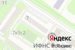 Схема проезда до компании Объединенные Налоговые Консультанты в Москве