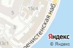 Схема проезда до компании Vklybe.tv в Москве