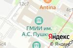Схема проезда до компании Государственный музей изобразительных искусств им. А.С. Пушкина в Москве