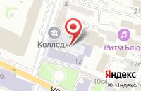 Схема проезда до компании Технологии и Развитие в Москве