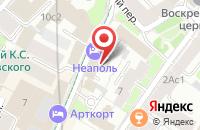 Схема проезда до компании Малое Творческо-Производственное Предприятие Русский Диск в Москве
