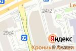 Схема проезда до компании Pixonic в Москве