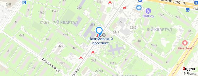 метро Нахимовский проспект