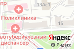 Схема проезда до компании Альфа-S в Москве