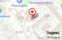 Схема проезда до компании Декор Систем в Москве