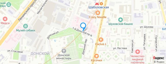 проезд Донской 1-й