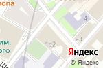 Схема проезда до компании Гнездниковский в Москве