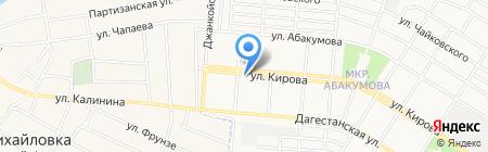 Прогресс на карте Донецка