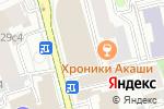 Схема проезда до компании Olsa в Москве