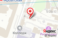 Схема проезда до компании Ремстройпроект в Москве