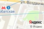 Схема проезда до компании Волконский в Москве