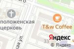 Схема проезда до компании DS Chocolate в Москве