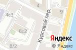 Схема проезда до компании Тканный ряд в Москве