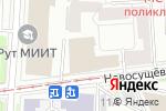 Схема проезда до компании Риччио в Москве