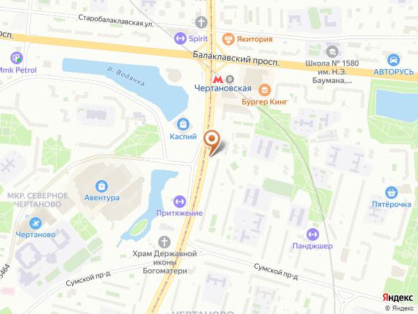 Остановка Центр творчества в Москве