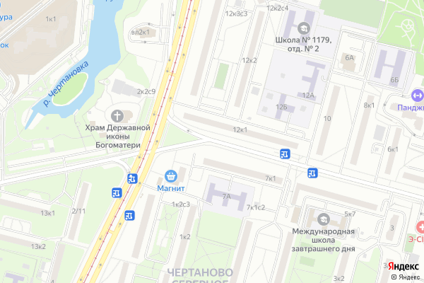 Ремонт телевизоров Сумской проезд на яндекс карте