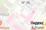 Схема проезда до компании Центр медико-биологических и экологических проблем РАЕН в Москве