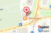 Схема проезда до компании Архитектурно-Экспертное Бюро в Москве