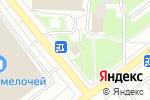 Схема проезда до компании Мамина выпечка в Москве