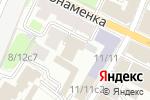 Схема проезда до компании Мир Права в Москве