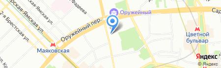 Персонал+ на карте Москвы