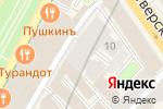 Схема проезда до компании Хачапури в Москве