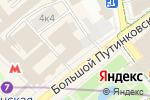 Схема проезда до компании GLOBALMED в Москве