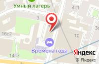 Схема проезда до компании Горожане в Москве