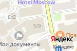 Схема проезда до компании Студия постановки свадебного танца в Москве